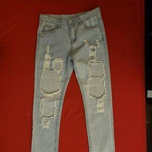 Ripped jeans *unworn*